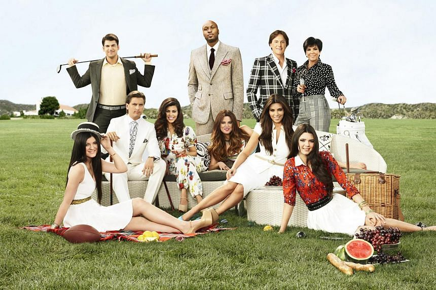 Television still: Keeping Up With The Kardashians. -- PHOTO: E! ENTERTAINMENT
