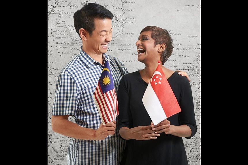 Above: Five actors from Singapore will tackle the Malaysian texts, while five from Malaysia will take on Singapore literature. Below: Singapore director Ivan Heng and Malaysian director Jo Kukathas.