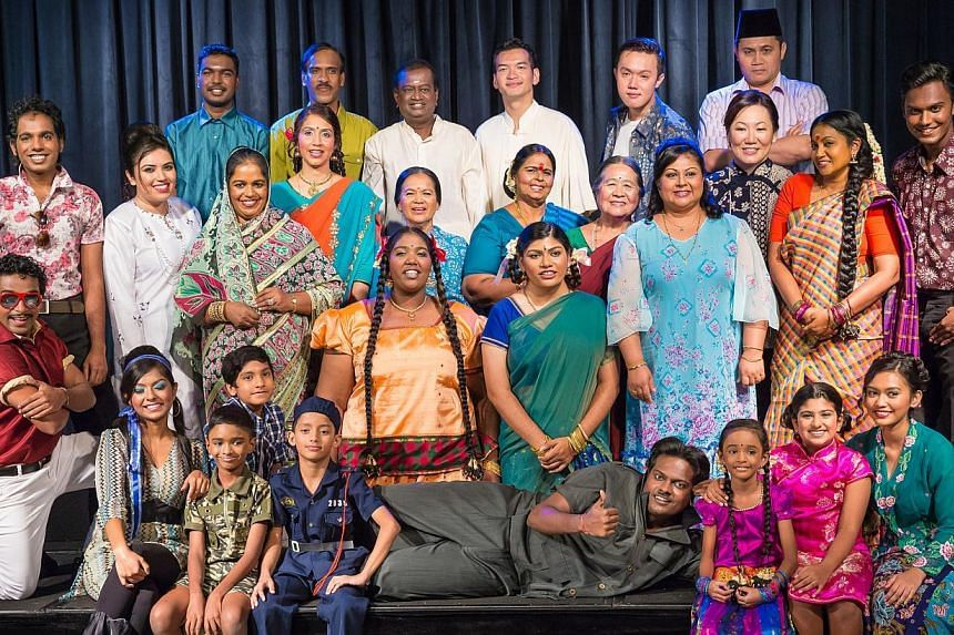 The play, with a budget of $120,000, is about the lives of six Indian families, one Chinese family and one Malay family.