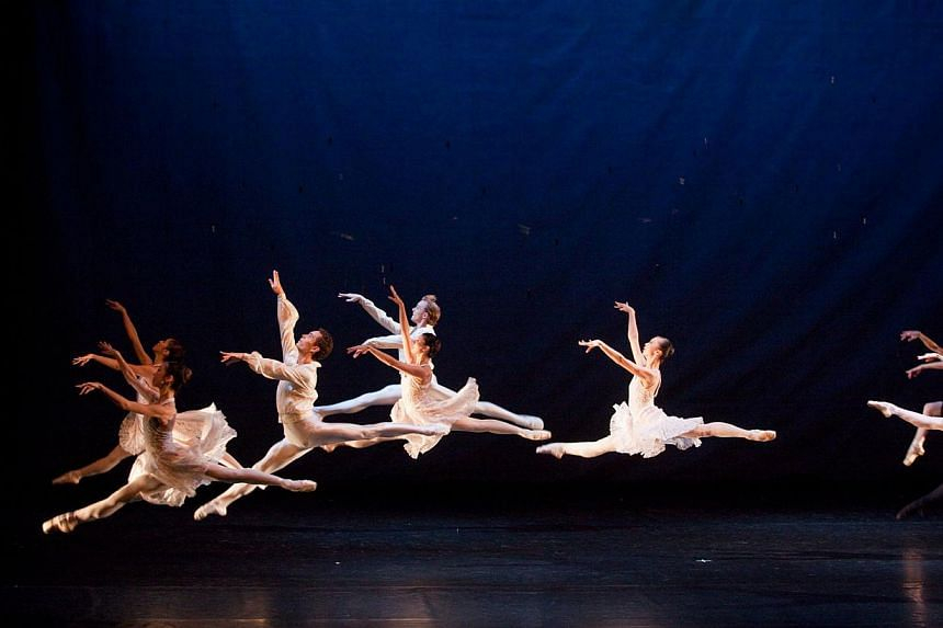 Chic and stylish: Goh Choo San's Double Contrasts (above) will be among works to be performed for Ballet Under The Stars' 20th anniversary. -- PHOTO: TAN NGIAP HENG