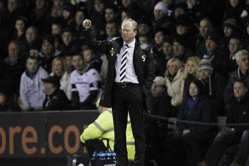 Derby County manager Steve McLaren. -- PHOTO: ACTION IMAGES