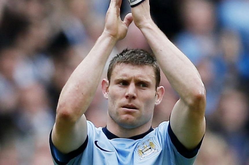 Liverpool hope to agree a free transfer of James Milner this week, with the England international poised to reject Champions League football with Manchester City or Arsenal in favour of a prominent role at Anfield, the Guardian reported. -- PHOTO: RE