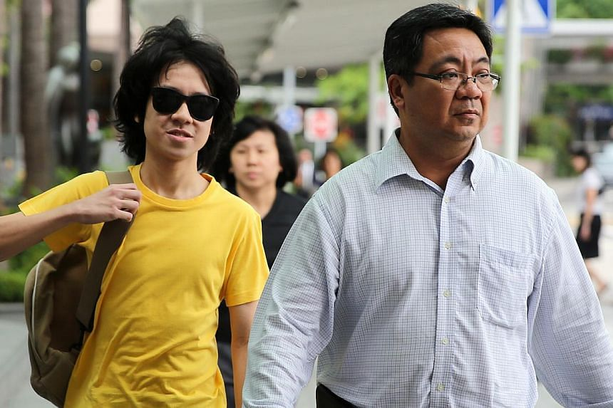 Teenage blogger Amos Yee, who was found guilty of uploading an obscene image and making remarks intending to hurt Christian feelings, is due back in court on Tuesday morning. -- ST PHOTO: WONG KWAI CHOW