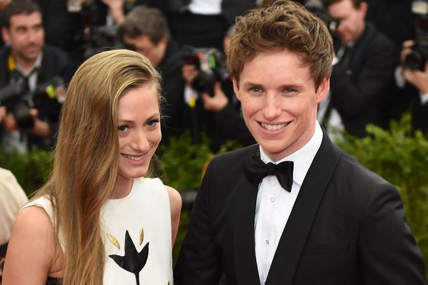 Hannah Bagshawe (left) and Eddie Redmayne arrive at the Costume Institute Gala Benefit at The Metropolitan Museum of Art on May 5, 2015 in New York. The Oscar-winning actor will enter the world of magic in Warner Bros' anticipated Harry Potter spin-o