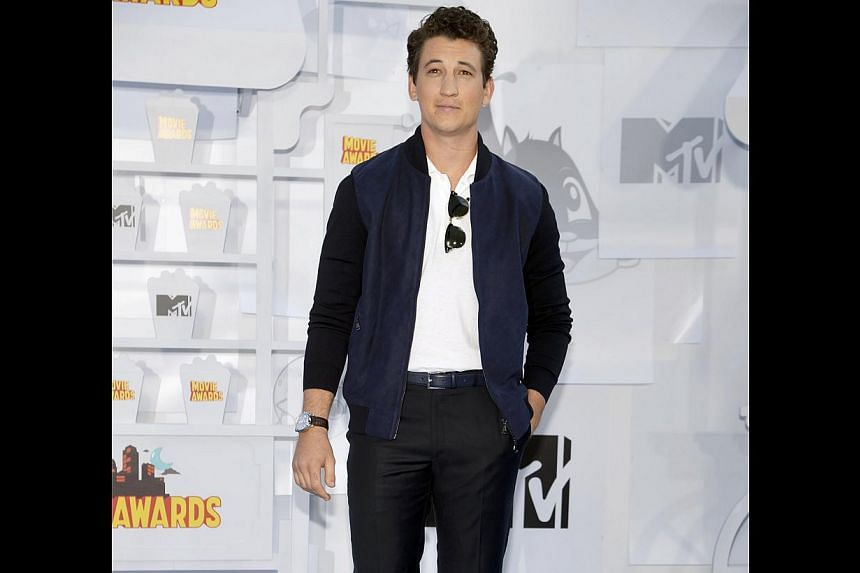 Miles Teller is playing Mister Fantastic in Fantastic Four, set to open in cinemas in August. -- PHOTO: REUTERS
