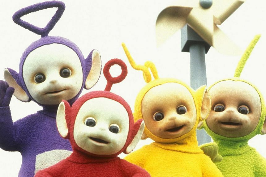 The Teletubbies are set to return to television later this year with a new digital-friendly look. -- PHOTO: BBC WORLDWIDE LTD