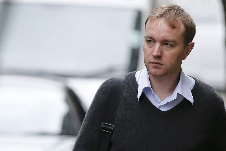 Former trader Tom Hayes arriving at Southwark Crown Court in London, Britain on June 2, 2015. -- PHOTO: REUTERS