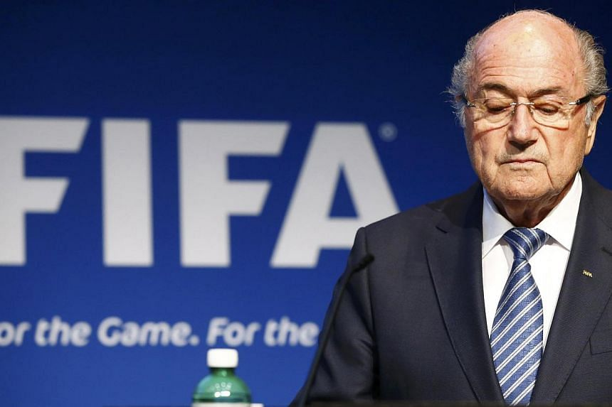 Sepp Blatter pauses during a news conference at the Fifa headquarters in Zurich, Switzerland, on June 2, 2015. -- PHOTO: REUTERS