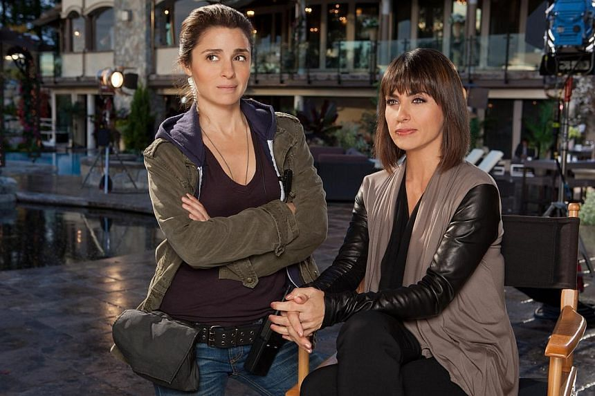 """I think it's about time that somebody pulled back the curtain on reality TV. There are too many of these shows now and people should be aware – the reality is not that pretty."" Actress Constance Zimmer (above right, with co-star Shiri Appleb"
