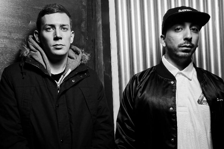 Bristol-based tech-house duo My Nu Leng and American house DJ Doorly. -- PHOTO : MY NU LENG MANAGEMENT