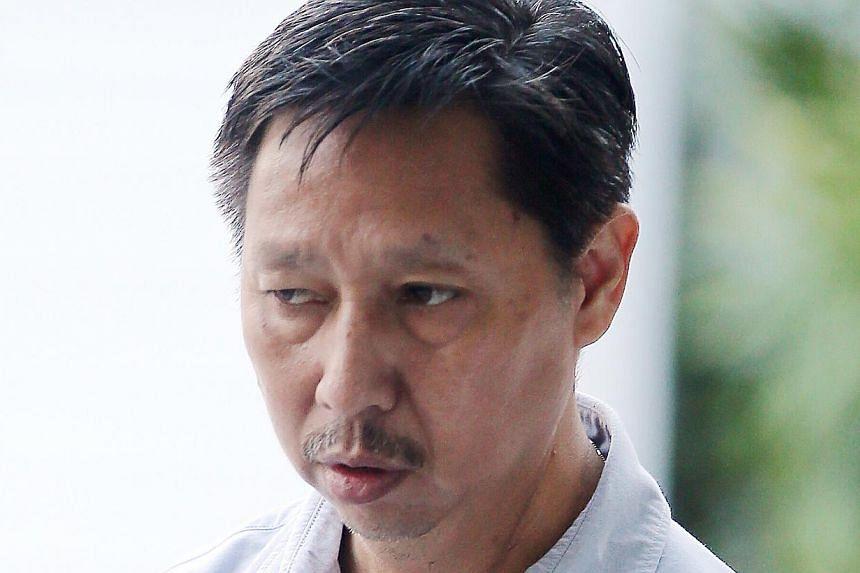 Pang Chon Seng's actions caused three chain collisions involving nine vehicles.