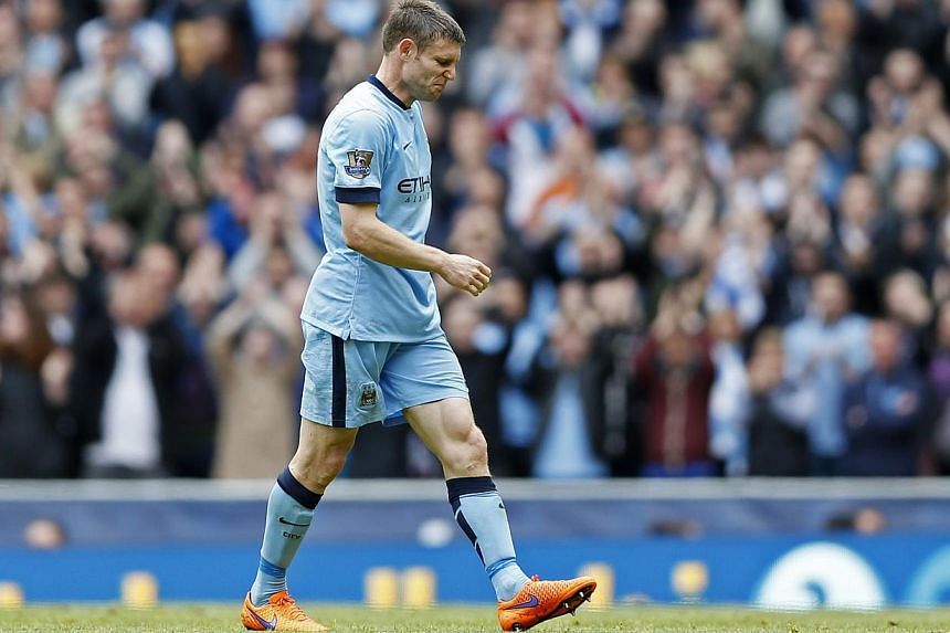 Liverpool announced on Thursday that they have agreed to sign England midfielder James Milner from English Premier League rivals Manchester City on a free transfer, subject to a medical examination. -- PHOTO: REUTERS