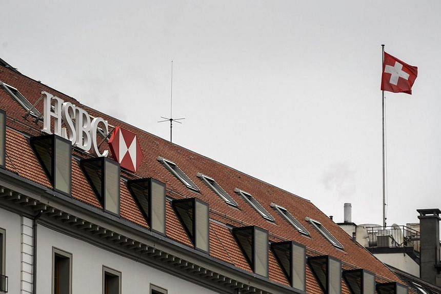 HSBC on Thursday, June 4, 2015, said it had agreed to pay the authorities in Geneva 40 million Swiss francs (S$58 million) to settle an investigation into allegations of money laundering at its Swiss private bank.-- PHOTO: AFP