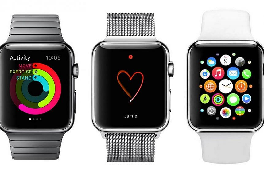 The Apple Watch will be available in Singapore from June 26, according to a press statement on Apple's website on Thursday. -- PHOTO: APPLE