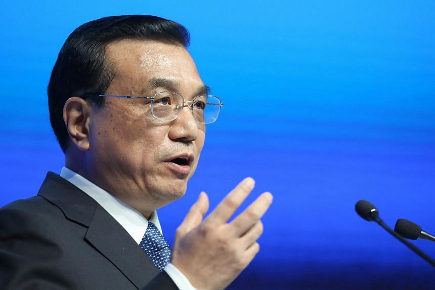 """Chinese premier Li Keqiang said the government would promote domestic listings of start-up firms with """"special ownership structure"""", part of China's efforts to encourage innovation and boost funding for productive sectors of the economy. -- PHOTO: BL"""