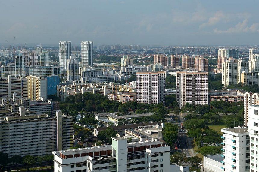 Singapore homebuyers will drive harder bargains in an already depressed housing market as new rules that require developers to disclose discounts and other perks unmask the actual value of properties for sale. -- PHOTO: ST FILE