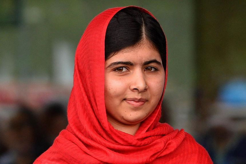 Eight of the 10 men supposedly convicted and jailed for attempting to murder Pakistani schoolgirl activist Malala Yousafzai (pictured) were actually cleared, officials said on Friday. -- PHOTO: AFP