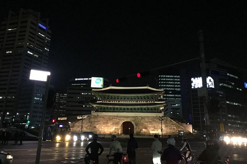 Fraser Place Namdaemun in Seoul. -- ST PHOTO: BRYNA SINGH