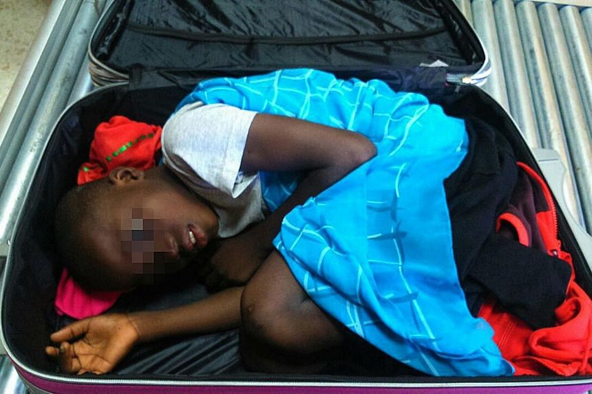 Eight-year-old Adou Ouattara has been staying at a centre for underage migrants in Ceuta, one of two Spanish enclaves in North Africa, since police found him on May 7 curled up and covered inside a suitcase without air vents at a border checkpoint in
