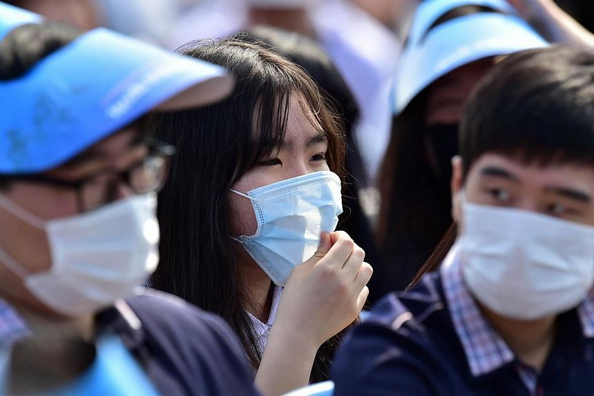 South Korea on Saturday confirmed nine more cases of the Mers virus, which has killed four people. -- PHOTO: AFP
