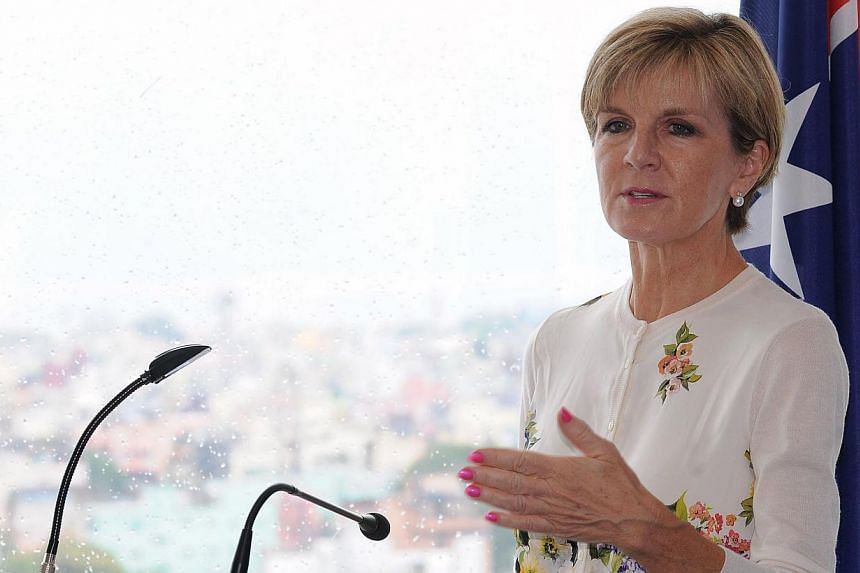The Islamic State in Iraq and Syria (ISIS) militant group has shown it is prepared to use chemical weapons and is likely to have among its recruits the technical expertise to develop them, Australia's Foreign Minister Julie Bishop said. -- PHOTO: AFP