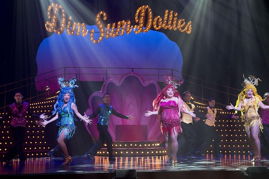 The Dollies turned in a rousing, rollicking revue, packed with easy laughs and a dollop of measured introspection. -- PHOTO: DREAM ACADEMY