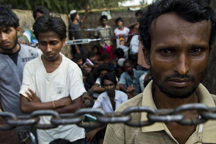 Rohingya men who enter Malaysia illegally are looking for Muslim widows in a bid to escape their past and have a better future. -- PHOTO: AFP