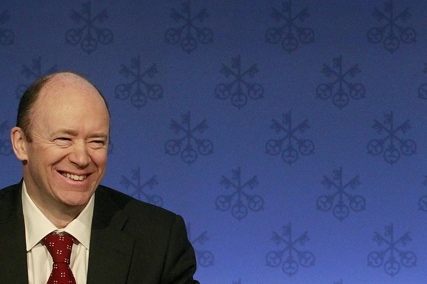 Deutsche Bank appoints John Cryan as its new CEO on Sunday, June 7, 2015 after co-chief executives Anshu Jain and Juergen Fitschen resigned following criticism from investors. -- PHOTO: REUTERS