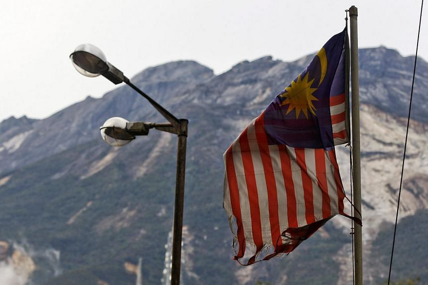 Four weak tremors have been reported in Malaysia's Sabah state in a period of four hours on Sunday morning.-- PHOTO: EPA