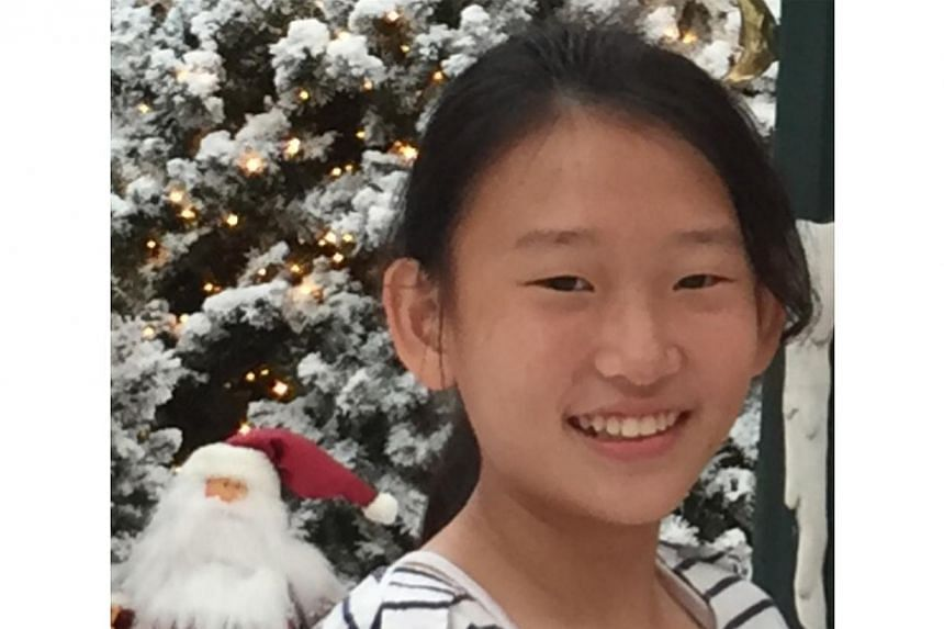 Peony Wee, the 12-year-old Tanjong Katong Primary School pupil who died in the Sabah earthquake. -- PHOTO: COURTESY OF ALSON WEE