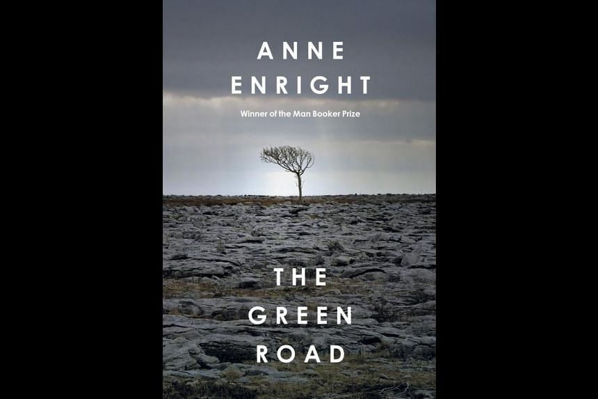 In The Green Road (above right), Irish writer Anne Enright (above) once again returns to her favoured theme of flawed families.