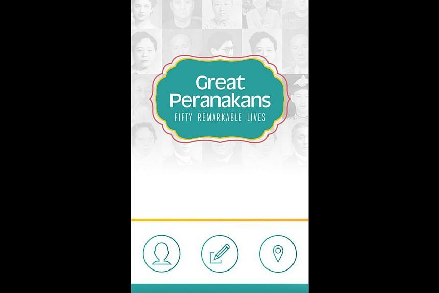 The Peranakan Museum's app (above) goes with its exhibitions.