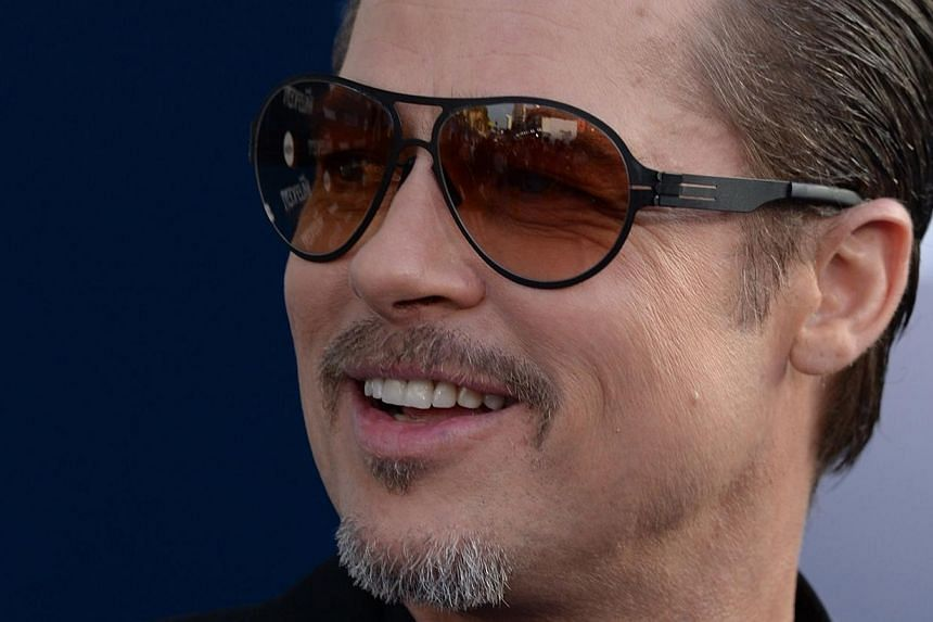 Brad Pitt's next movie War Machine will be released exclusively on Netflix and in select theaters next year, the top streaming service announced Monday (June 8). -- PHOTO: AFP