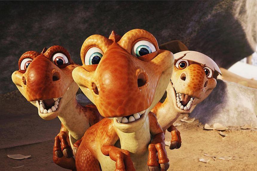 Ice Age: Dawn Of The Dinosaurs (2009). -- PHOTO: TWENTIETH CENTURY FOX