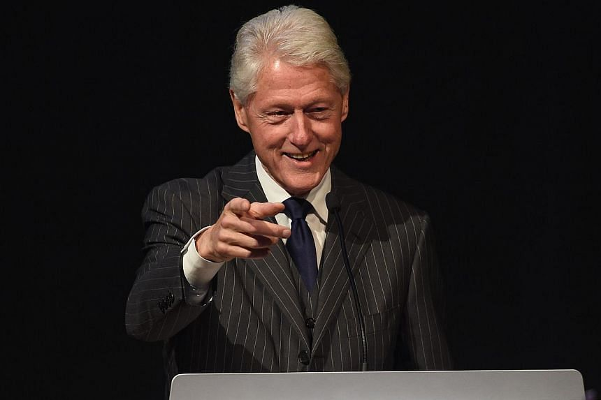 Bill Clinton speaks during the Forbes' 2015 Philanthropy Summit Awards Dinner on June 3, 2015 in New York City. The former US president Bill Clinton said on Wednesday that he would no longer give paid speeches if his wife Hillary is elected US presid