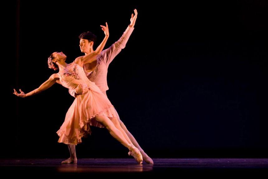 Schubert Symphony. -- PHOTO: SINGAPORE DANCE THEATRE