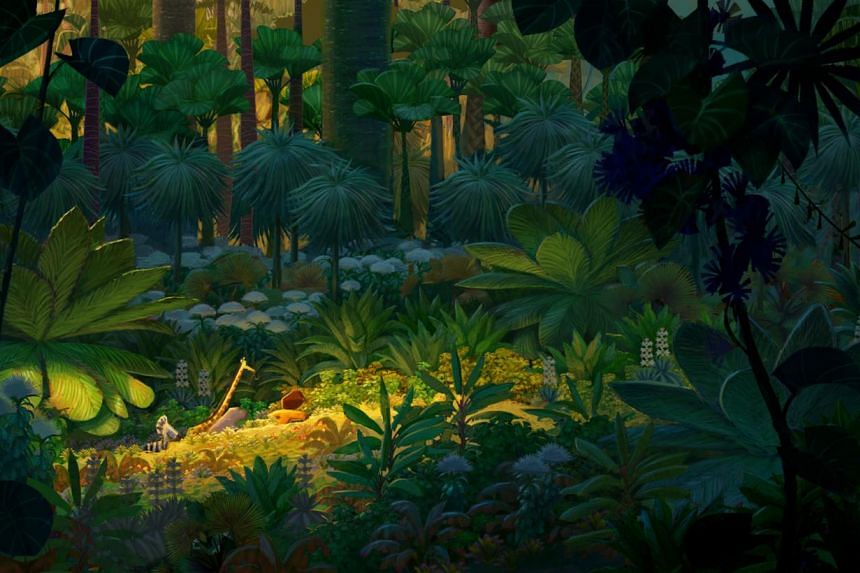 A scene from Madagascar (2005) by artist Alex Puvilland. -- PHOTO: DREAMWORKS ANIMATION