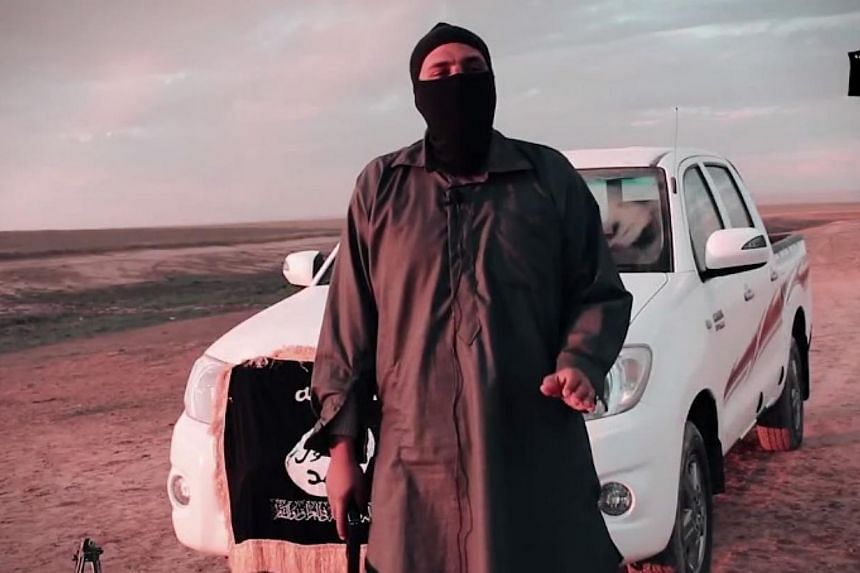 A screenshot from a new video by ISISmarking a year since it captured Mosul. -- PHOTO: YOUTUBE