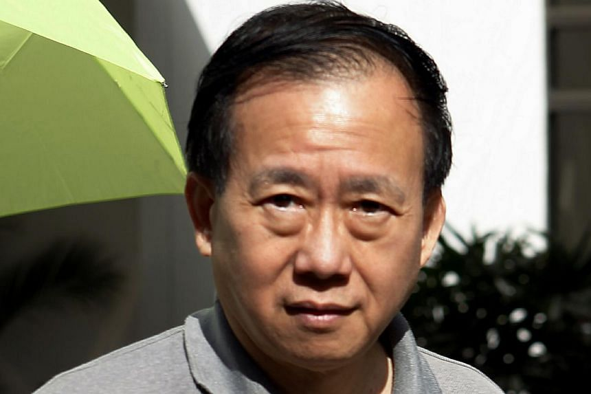 Obstetrician and gynaecologist Ong Theng Kiat, 64, was jailed for 10 months in 2014 for two counts of sex with a minor.-- PHOTO: ST FILE