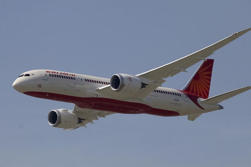 The incident happened on a flight from Delhi to London on Thursday, an airline official said. It was not immediately clear if the animal was dead or alive. -- PHOTO: BLOOMBERG