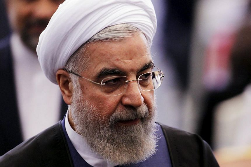 Iran's president Hassan Rouhani (above) warned Saturday that haggling by world powers could jeopardise the deadline for a nuclear agreement, admitting many differences remain on the details of a potentially historic deal. -- PHOTO: REUTERS