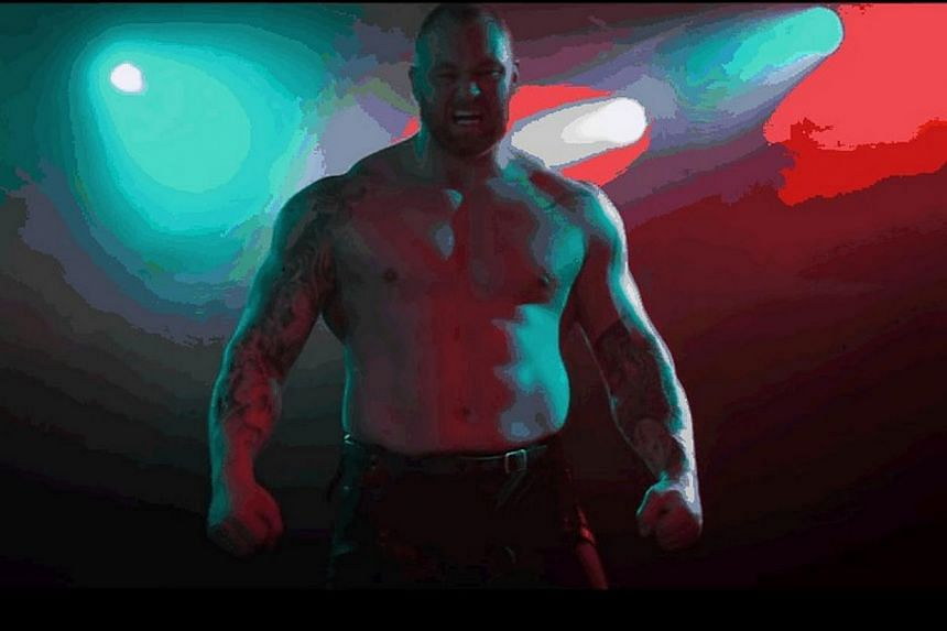 One of its music videos features Hafthor Julius Bjornsson (above), better known as The Mountain in the Game Of Thrones television series. -- PHOTO: YOUTUBE