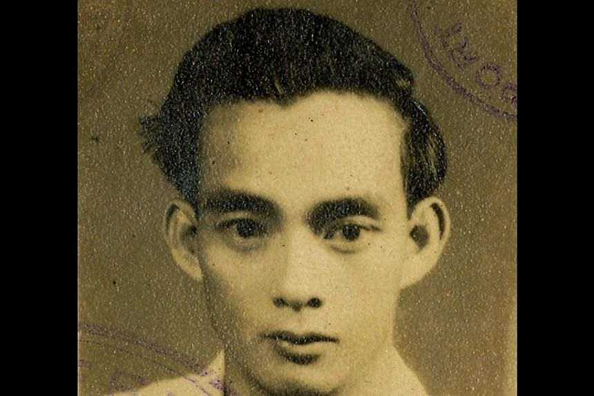Mr Jolly Wee (above, in his 20s) -- PHOTO: COURTESY OF JOLLY WEE