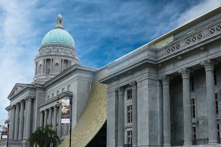 The National Gallery Singapore and former Supreme Court building. A new modern art wing at the National Gallery Singapore, set to open in October, will be named after Singtel, as the telco announced a $20 million contribution to the Gallery on Monday