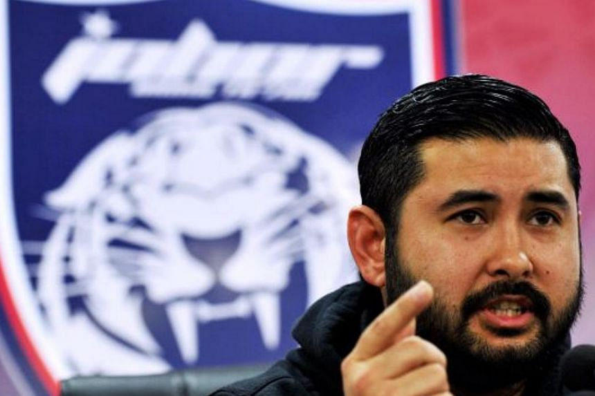 """The war of words between Johor's Crown Prince, Tunku Ismail Sultan Ibrahim (pictured),and Malaysia Tourism and Culture Minister Nazri Azizcontinues as the Prince reminded Datuk Seri Nazri that """"he is not a God from the heavens who lord ab"""