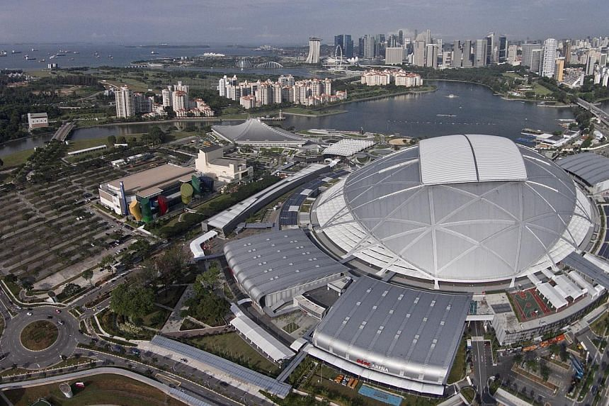 Road closures and restrictions will be in place to ensure the smooth running of the SEA Games Closing Ceremony from Tuesday, June 16, 2015, 7pm onwards.-- ST PHOTO:JAMIE KOH/MARK CHEONG