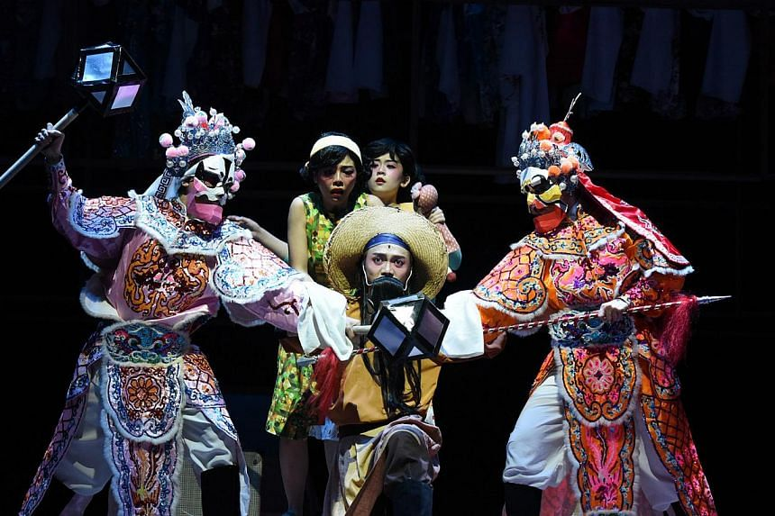 Toy Factory Productions, which staged its acclaimed Titoudao (above) for the fifth time earlier this year, will be bringing back the romantic musical December Rains in August. -- PHOTO: TOY FACTORY PRODUCTIONS
