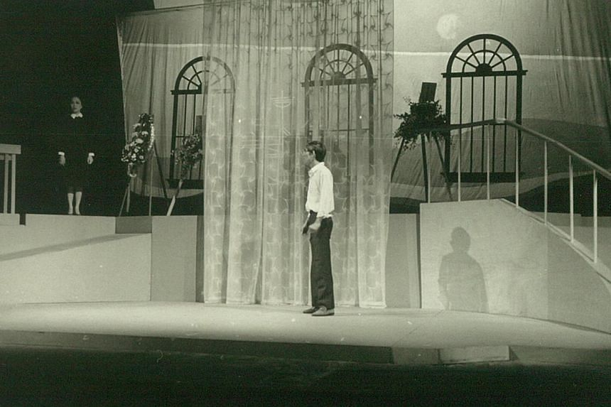 The Little White Sailing Boat (Xiao Bai Chuan; 1982). -- PHOTO: THE THEATRE PRACTICE