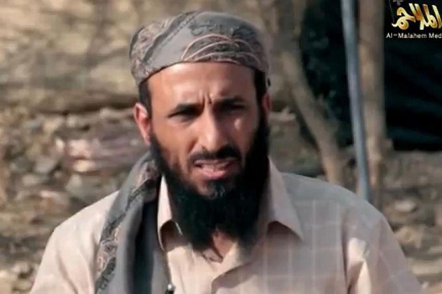 Al-Qaeda in Yemen has confirmed the death of its leader Nasir al-Wuhayshi, number two in the global militant organisation, in a US drone strike.-- PHOTO :AFP