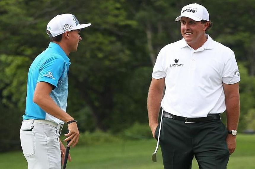Mickelson is making a bid to complete the Grand Slam in golf as he gears up to compete in the US Open tomorrow at Chambers Bay near Seattle.